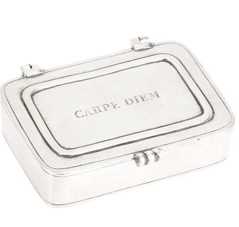 Carpe Diem Pewter Box