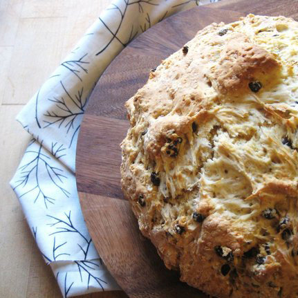 Panettone Soda Bread