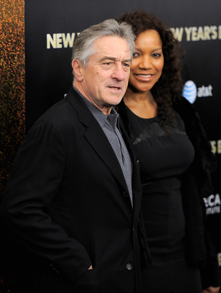 Robert De Niro brought his wife, Grace Hightower, along as his date.