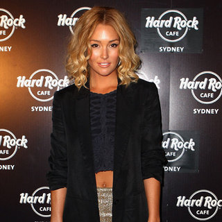 Celebrities at Sydney Hard Rock Cafe Opening: Erin McNaught, Stan Walker, Jessica Sutta and More