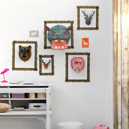 Cool Idea: Create a Gallery of Playful Faux Taxidermy