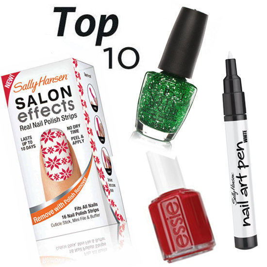 10 of the Best Christmas-Inspired Nail Products
