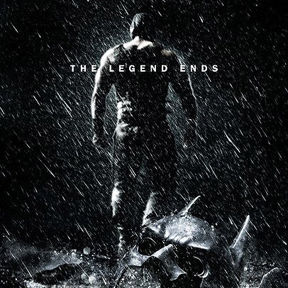 The Dark Knight Rises Bale Poster