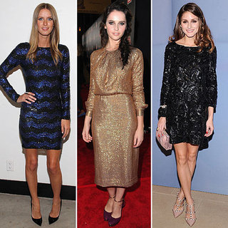 Pictures of Celebrities in Sequins: Shop Similar Sequinned Looks Like Olivia Palermo, Felicity Jones, Nicole Richie and more!