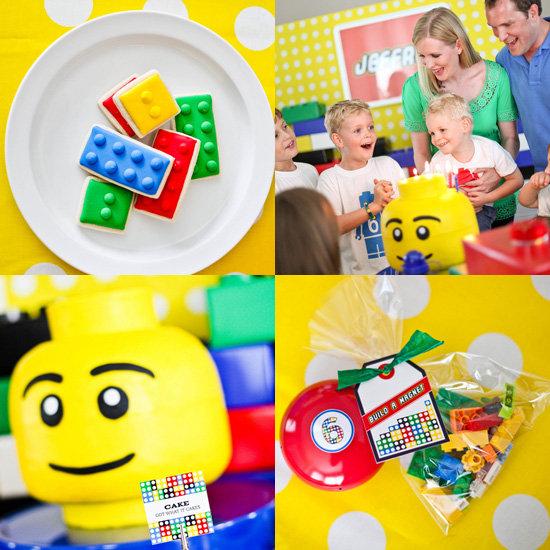 A Lego-Themed Birthday Party