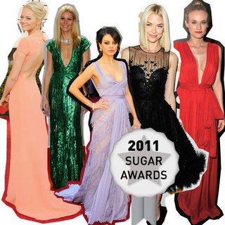 Pictures of the best dressed celebrity on the red carpet in 2011: Gwyneth Paltrow, Emma Stone, Jaime King, Dianne Kruger & more!