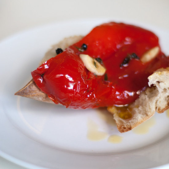 Roasted Red Peppers With Garlic