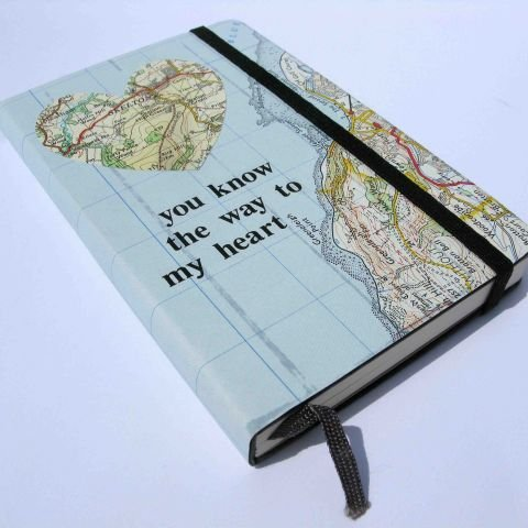 """I have a special place in my heart for Moleskin notebooks and I happen to know that many of my friends feel the same way. The brand's artist marketplace fosters personalized versions of these already awesome journals for varied prices. I would love to gift this ""You Know the Way to My Heart"" map-covered notebook — but the site has a plethora of other equally awesome designs to choose from."" — Marisa Tom, associate editor  Moleskine Artist Marketplace-Customized Notebooks ($25)"