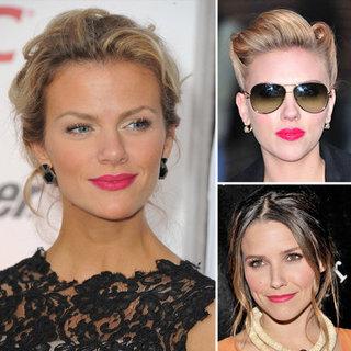 Celebrities Wearing Pink Lipstick