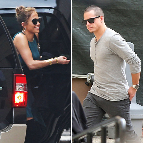 Jennifer Lopez Gets a Surprise Visit From Casper During AI's Hollywood Week
