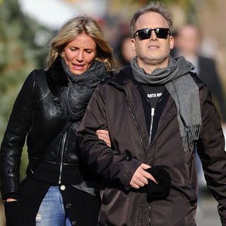 Cameron Diaz Walking in NYC Pictures