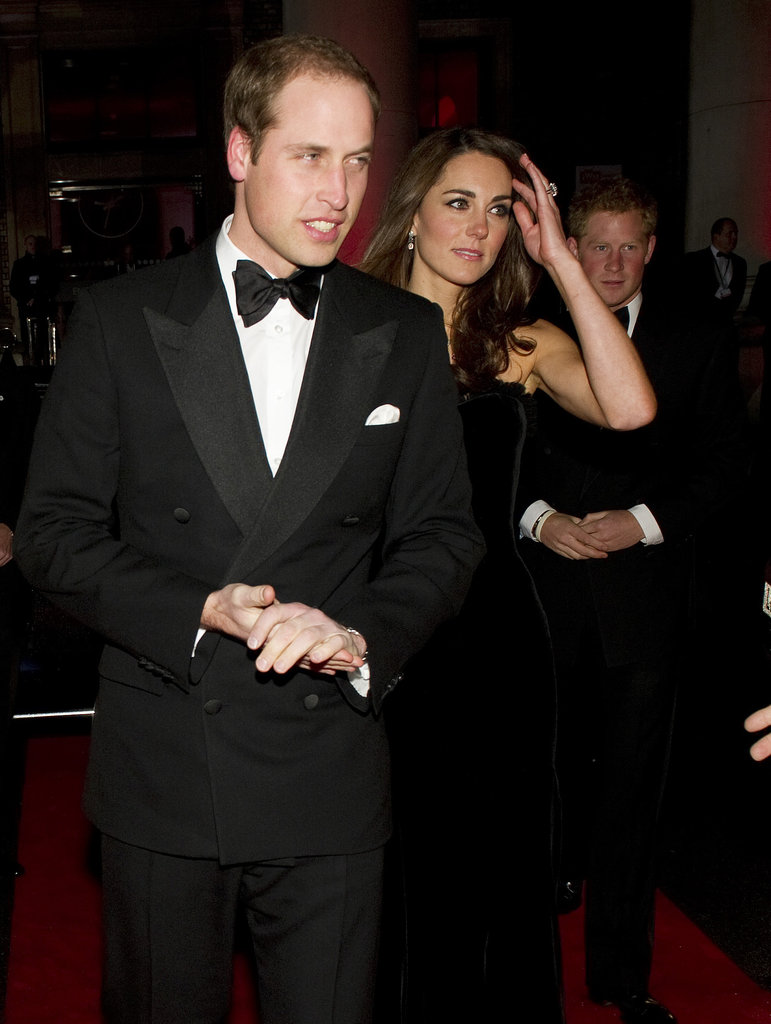 Prince William and Kate Middleton went to a military awards event with Prince Harry.