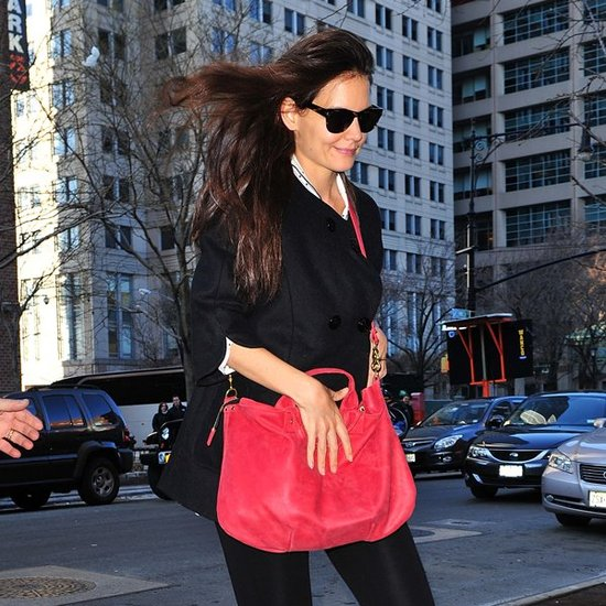 Katie Holmes's Birthday Fashion
