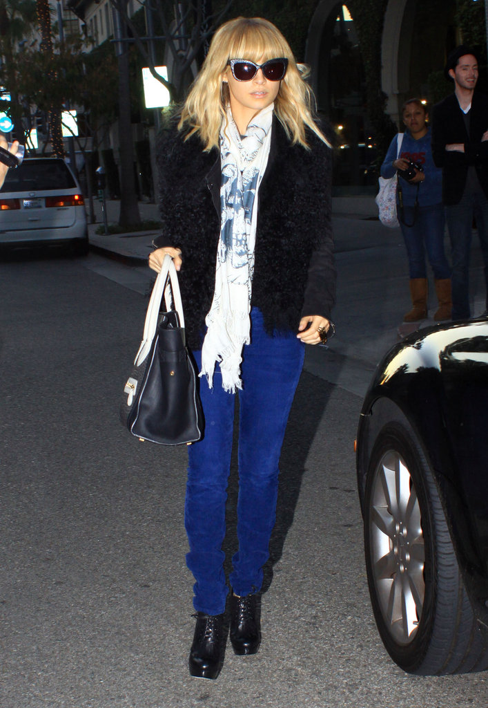 Nicole Richie hit the town.