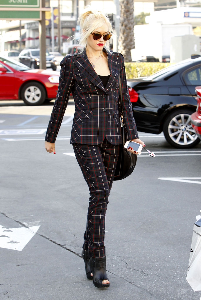 Gwen Stefani was out and about in LA.