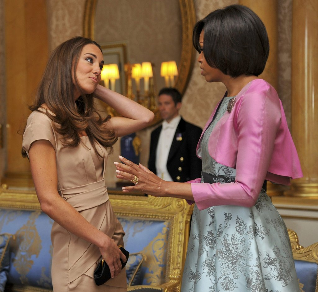 May 2011: Meeting Michelle Obama in London