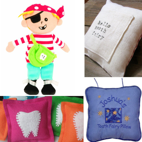 10 Sweet Pillows to Greet the Tooth Fairy