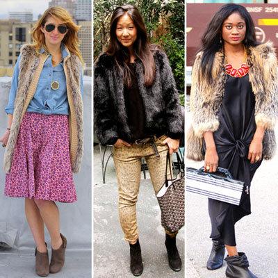 Styling Tip: Wear Fur