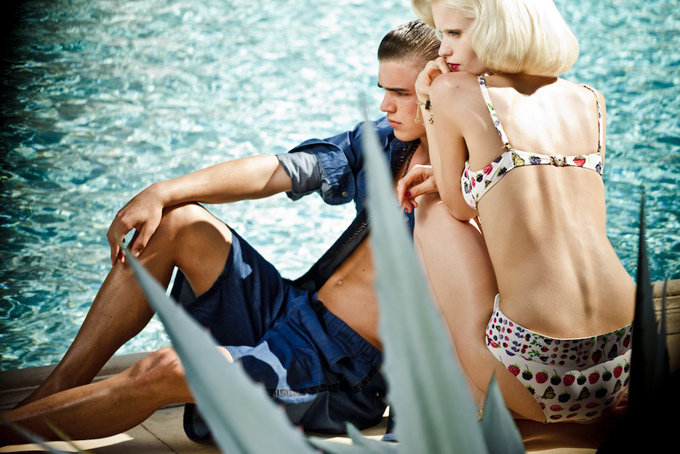 Versace For H&M Resort 2012 Ad Campaign