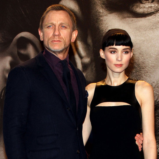Rooney Mara and Daniel Craig in Berlin Premiere Pictures