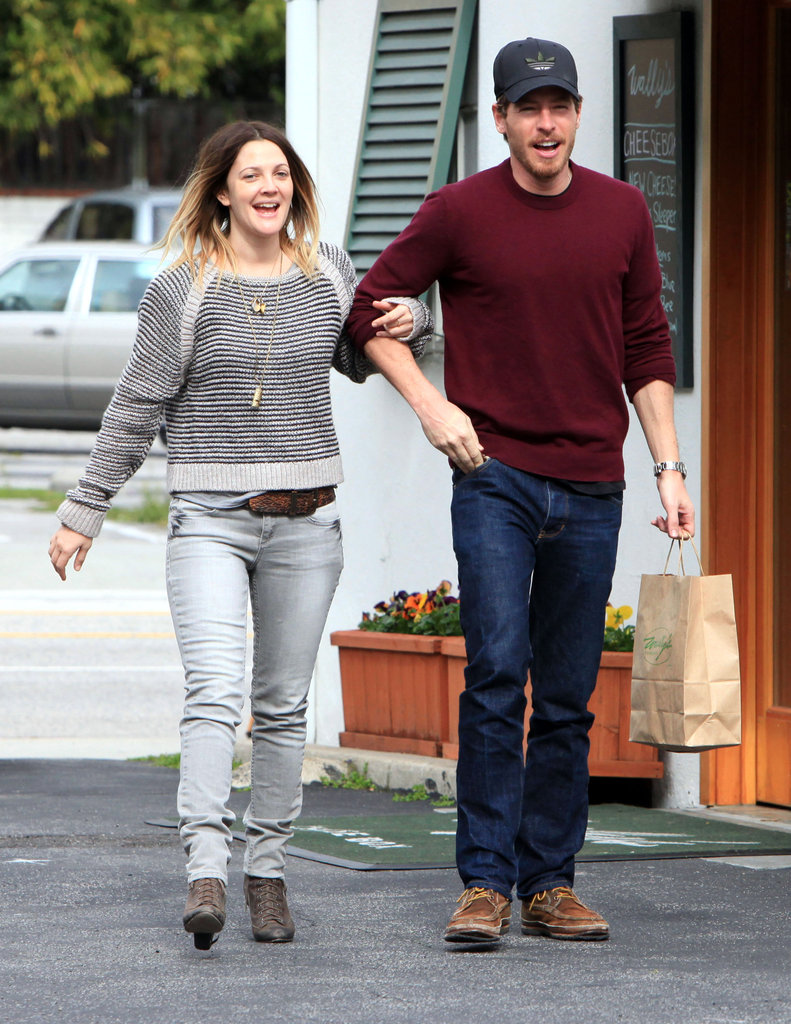Drew and Will met for an LA lunch date in March 2011.
