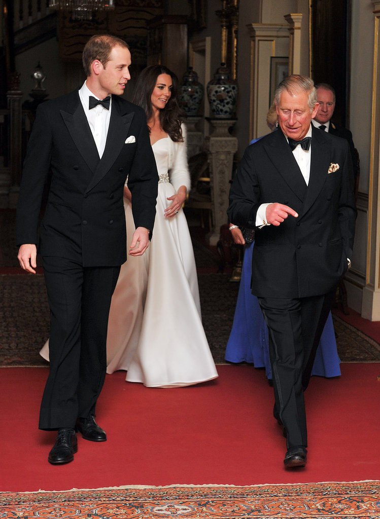Kate Middleton and Prince William had an outfit change for their April 2011 wedding reception.
