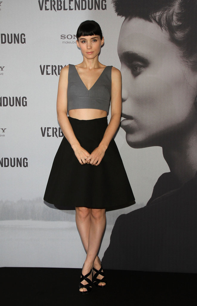 Rooney Mara was in Berlin in support of The Girl With the Dragon Tattoo.