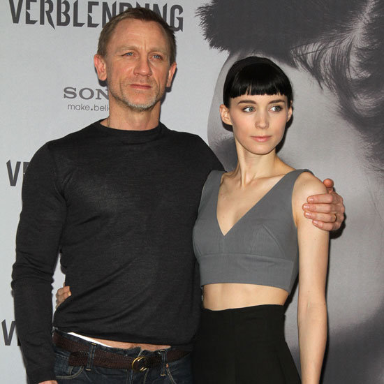 Daniel Craig and Rooney Mara Dragon Tattoo Premiere Berlin