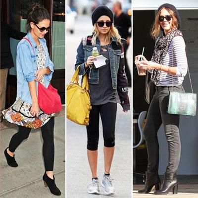 Celebrity Lookbook: Colorful Carryalls