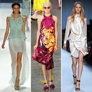 The Top Ten Runway Trends from Spring Summer 2012 To Wear Now: Tropical Prints, Fringing, Whites, Sports, Sheer and more!