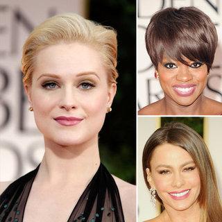 Mauve Makeup Dominates the 2012 Golden Globes Red Carpet