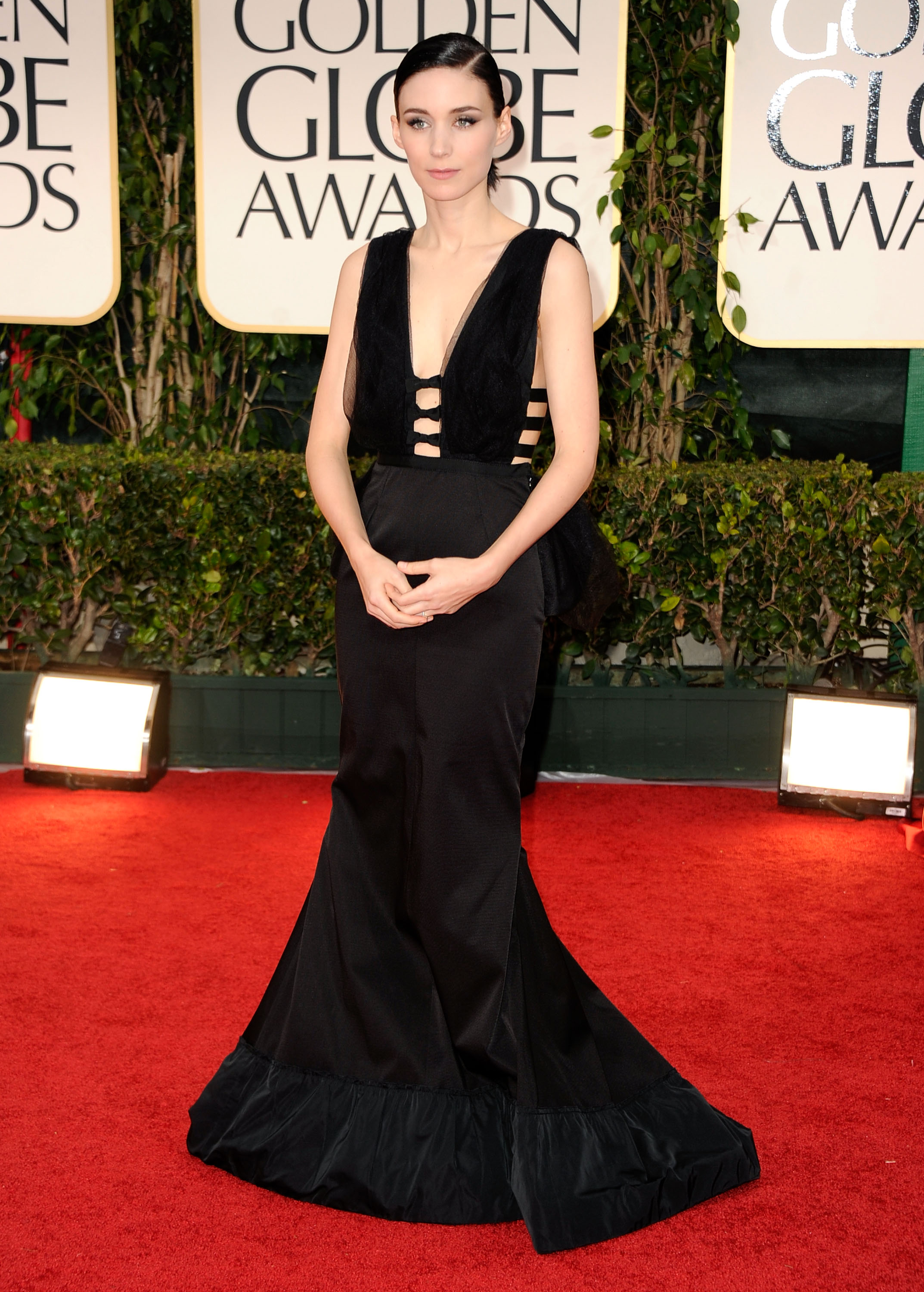 Rooney Mara at the Golden Globes.