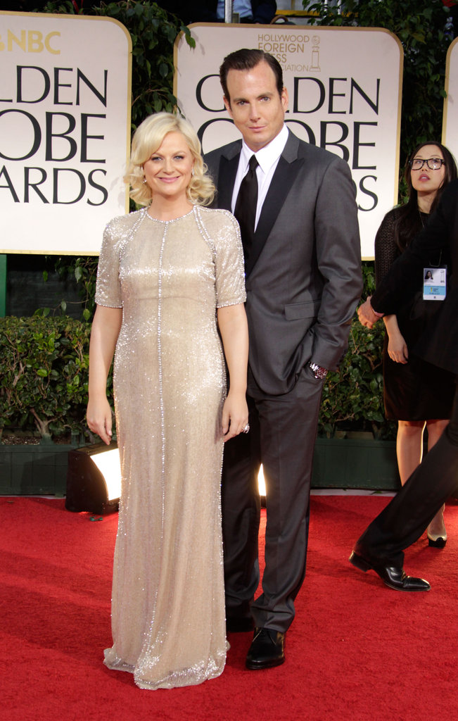 Amy Poehler and Will Arnett were on the red carpet together.