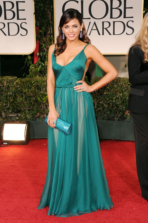 Jenna Dewan at the Golden Globes.