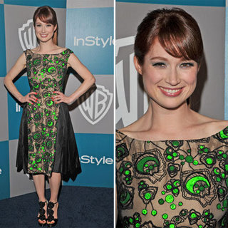 Ellie Kemper at InStyle Golden Globes Afterparty