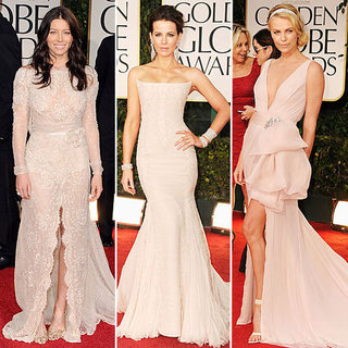 Nude Was The Hue of Choice on The 2012 Golden Globes Red Carpet