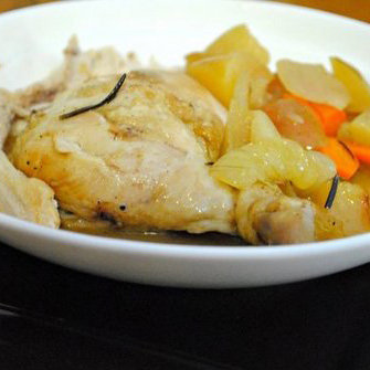 Savory Sight: Whiskey Cider One-Pot Chicken