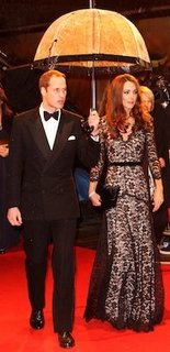 Kate Middleton in Alice by Temperley at War Horse Premiere