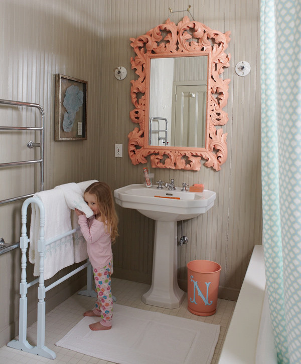 Kids bathroom decor ideas popsugar moms - Kids bathroom design ...