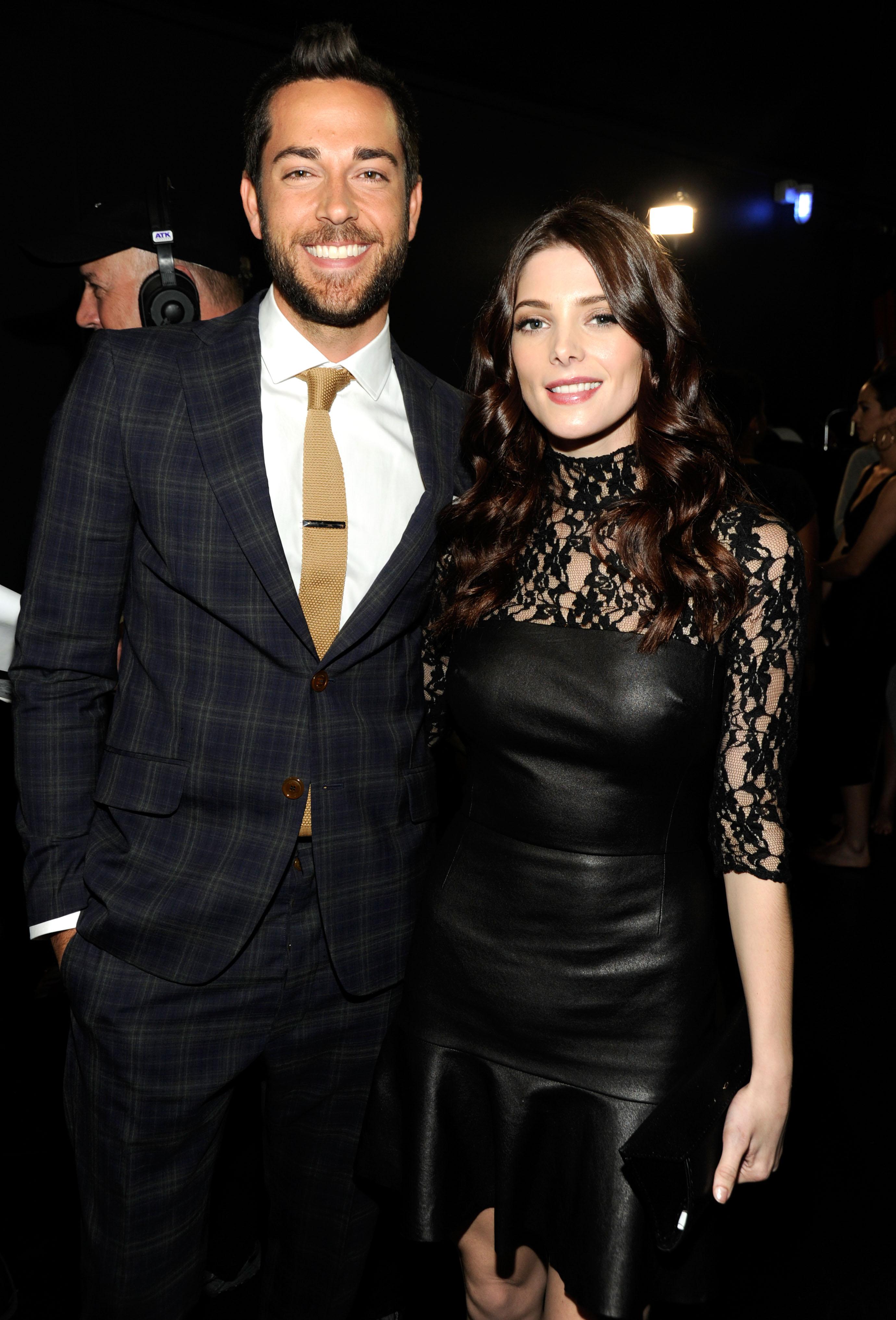Zachary Levi and Ashley Greene