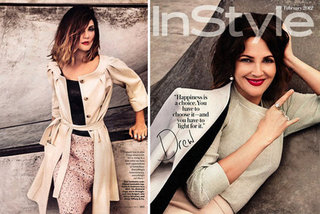 Drew Barrymore Tells InStyle That She's Anti-Plastic Surgery