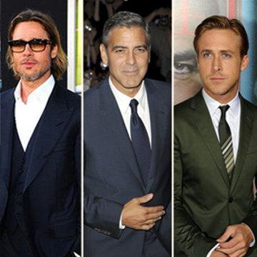 Sexy Best Actors of the 2012 Award Season