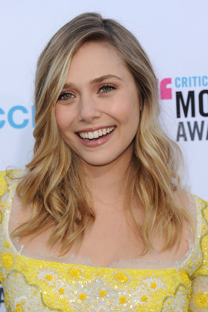 Elizabeth Olsen was glowing in a yellow Pucci dress at the 2012 Critics' Choice Movie Awards.