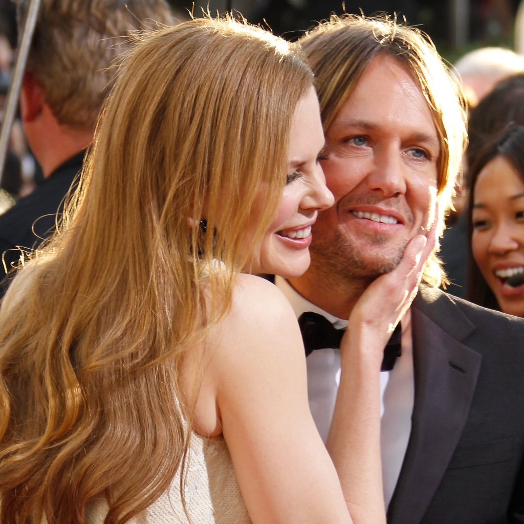 Nicole Kidman and Keith Urban looked lovey on the red carpet in 2011.