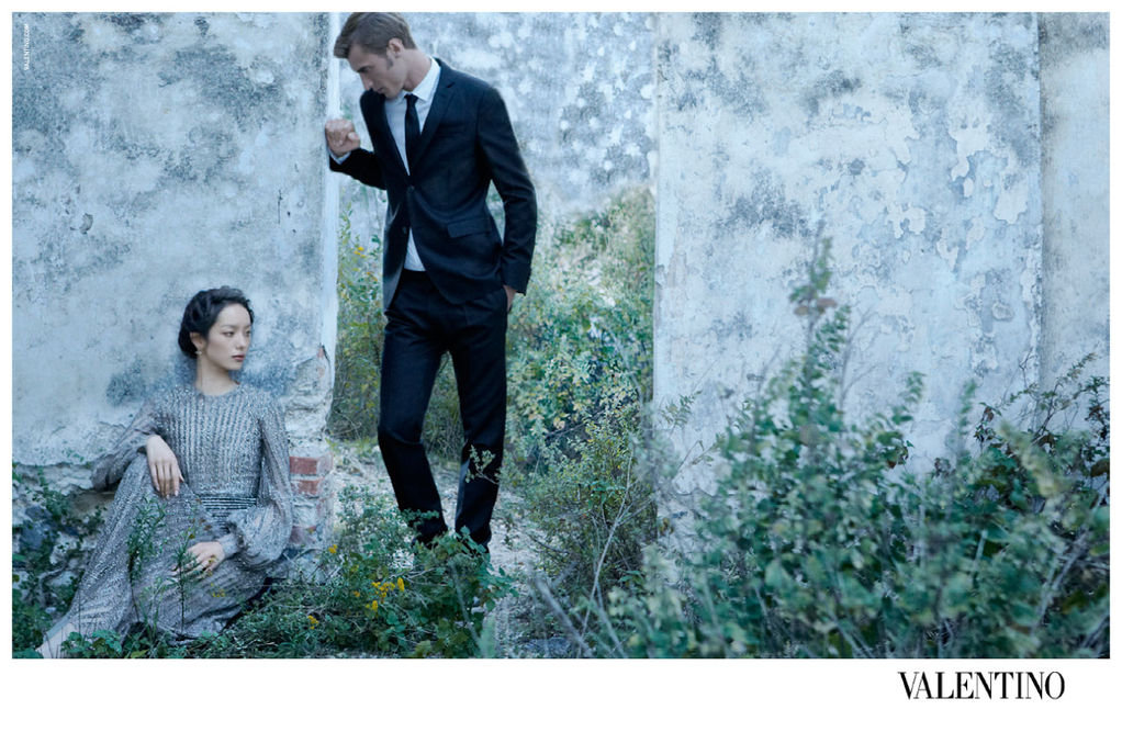 A couple looks elegant in Valentino's Spring ad. Source: Fashion Gone Rogue