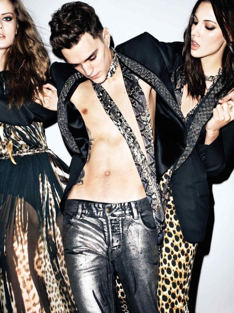 We see leopard and cheetah spots galore in this Just Cavalli ad. Source: Fashion Gone Rogue