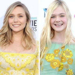 Elizabeth Olsen, Elle Fanning at Critics' Choice 2012