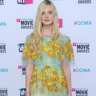 Elle Fanning in Rodarte at Critics' Choice 2012