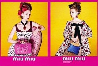 Australian Actress Mia Wasikowska Named The Face of Miu Miu's Spring 2012 Campaign