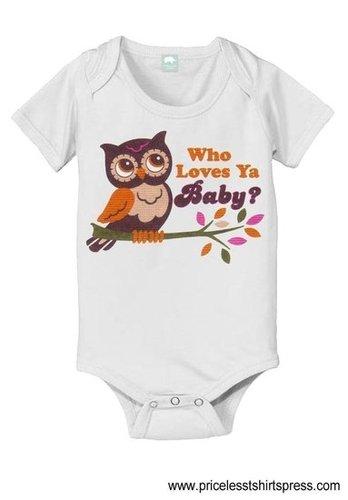 owl baby onesie,